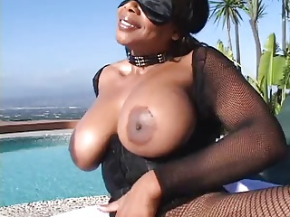 Busty Blindfolded Milf Ass Fucked by 2
