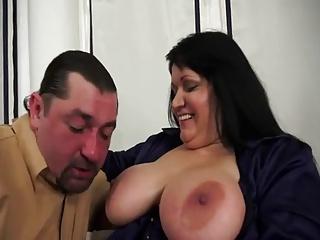 Hungarian BBw Milf Obese Tits Anal operate