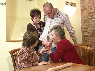 Granny GRANNY with an increment of granny fucked by young boy