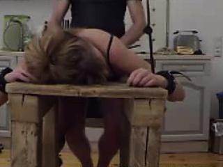 bound and bent slave Lia