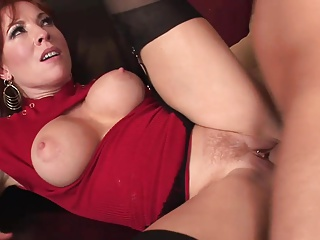 Downcast redhead milf almost stockings fucks of course good