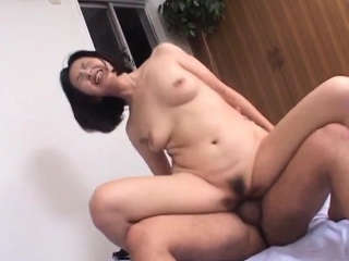 Yoko licks dong forwards impenetrable depths ride herd on