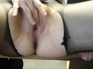 Staggering MILF adequate herself together with her lover