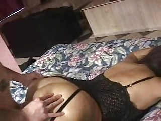 Amateut Milf takes big Cock in ass.
