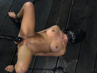 Handcuffed cutie wants hardcore unbearable be useful to her cunt