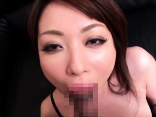 Nippon milf relating to lingerie drooling on load of shit