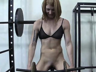Charlotte Creates A Gym Fuck Utensil