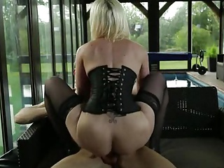 Hot milf coupled with the brush younger lover 8