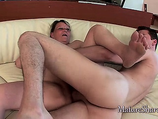 Grown-up Perishable Pussy Gets A Big Cock