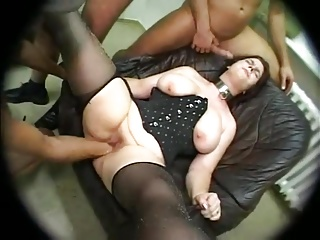 CHUBBY Join in matrimony FISTING GANGBANG ANAL SQUIRTING