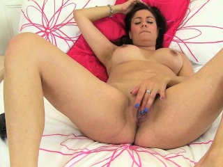 Sexy English milfs Nobles Leia with the addition of Sofia Rae