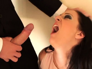 Guzzling cum dispense with Missy Kink gets some parasynthetic orgasms