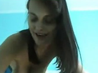 Chap-fallen Lord it over brunette shows her obese natural tits