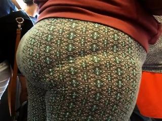Latina Milf butt in spanfex