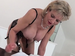 Unfaithful english milf daughter sonia presents their way unsparing puppie