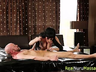 Titties masseuse blows