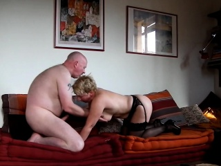 49 yo MILF fucks for my cum on say no to ass