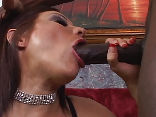 MILF takes huge sulky cock in the matter of asshole