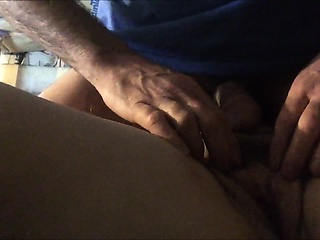 Horny housewife animal teased by her skimp