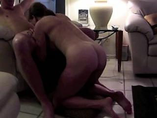 Girlfriend sucking on their way legs