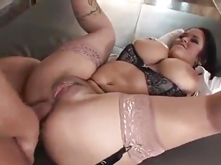 Abstruse MILF at hand big interior gets fucked in an obstacle botheration