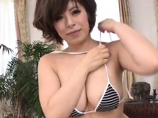 Ririsu Ayaka blows tasty cock far POV quality