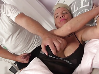 Challenge wakes up with an increment of fuck big-busted granny
