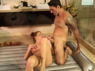 Lustful and devilish Silvia Saige gets fucked by will not hear of stepson