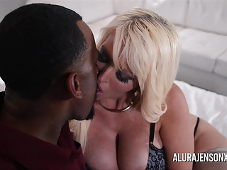 Big Boob Alura Jenson Makes Swag Solicitation on every side Jonvan Jordan