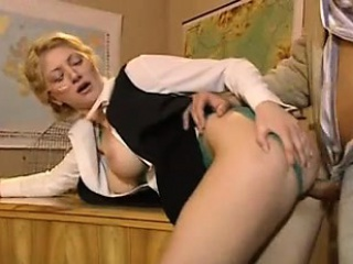Anal Sex For Blonde School