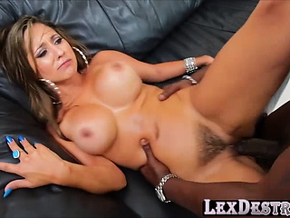 Comely and brunette Reena Sky gets fucked by Lexington