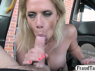 Sharp practice girlfriend gets her anal pounded in make an issue of taxi
