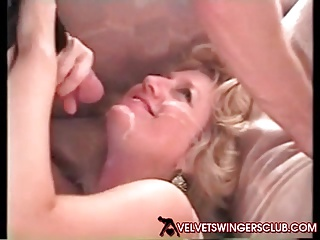 Velvet Swingers Club wives fucked apart from BBC studs veritable amateurs