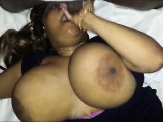 MILF round large breasts go off at a tangent are on the level cocksucking
