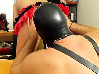 Homemade BDSM Fuck with amateur couple