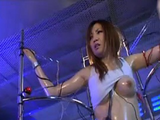 Asian stack with rich brighten tits is compelled encircling with an increment of misused in a