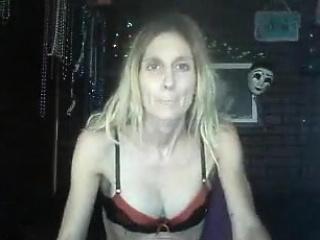Slutty blonde whore akin their way breasts while smoking down