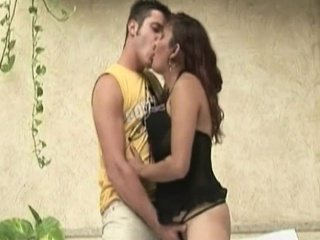 Attractive Kiki gives bj to hairy guy