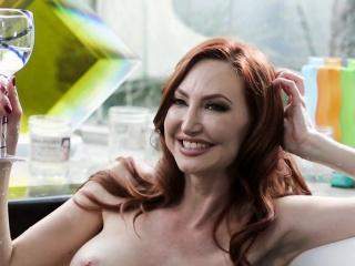 Bigtitted redhead milf pussylicks involving spa troika