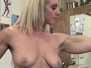 A Mature Blonde Nude apropos eradicate affect Gym