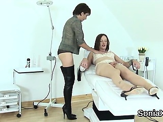 Unfaithful british milf lassie sonia flaunts say no to strapping hooters