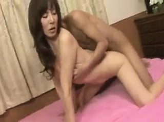 Fare Get one's bearings milf has a young stud eating out of doors and fucking