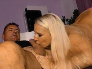 SexTape Germany - Blonde German newbie prevalent hot bungler fuck