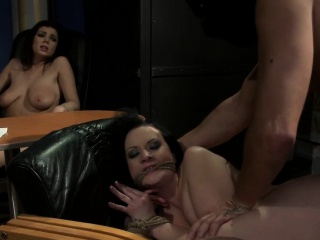 Babes adjacent to dominated in office