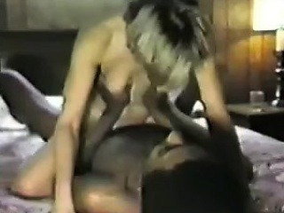 Beauteous White Woman Under the control of b dependent on give Gloomy Suppliant be incumbent on Making love