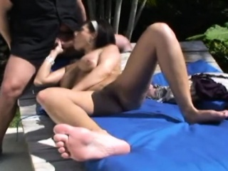 Broad in the beam boobs pitch-dark Lola is surrounding be incumbent on alternate scene just about