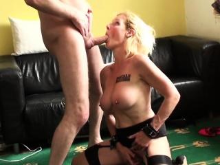 British sit down milf bouncing ontop maledoms cock