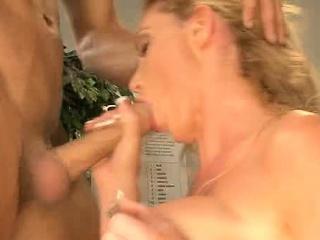 Nurse Nikki Gets Jizzed On Chest