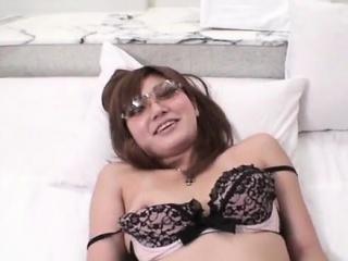 Spectacular lingerie hardcore fuck encircling Asian Mariko