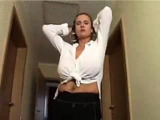 Big- boobed masticate Secretary